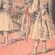 DETALLES 06   El Rey y la Reina de Italia llegan en Francia - Estación de Dijon - 1903