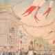 DETALLES 03 | El rey y la Reina de Italia caminan por los Grands Boulevards - Paris - 1903