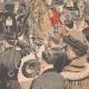 DETALLES 04 | El rey y la Reina de Italia caminan por los Grands Boulevards - Paris - 1903