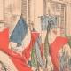 DÉTAILS 03 | Cortège en l'honneur de la France devant le Palais Farnèse - Rome - 1903