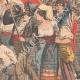 DÉTAILS 04 | Cortège en l'honneur de la France devant le Palais Farnèse - Rome - 1903