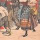 DÉTAILS 06 | Cortège en l'honneur de la France devant le Palais Farnèse - Rome - 1903