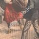 DETAILS 06   Midinettes race from Place de la Concorde to the Arc de Triomphe - Paris - 1903