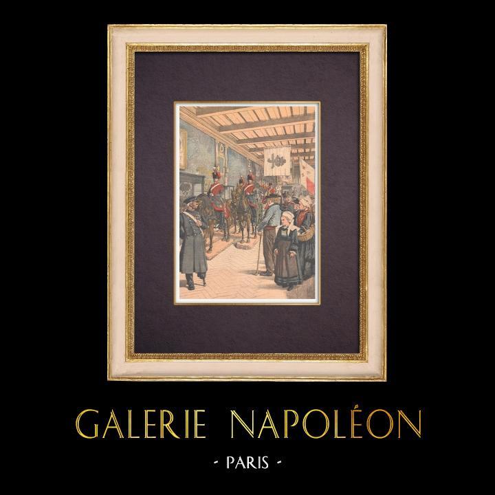 Grabados & Dibujos Antiguos | Musée de l'Armée - Los Inválidos - Paris - 1903 | Grabado xilográfico | 1903