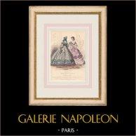 Gravura de Moda - Paris - Mme Vasseur - Mme Payan