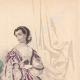 DÉTAILS 03 | Gravure de Mode - Paris - Mme Vasseur - Mme Payan