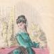 DETALLES 03   Grabado de Moda - París - Mme Berangere - Lemonnier