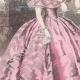 DETAILS 02 | Fashion Plate - Paris - Robes Roses et Bleues