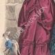 DÉTAILS 02 | Gravure de Mode - Paris - Mme du Riez  - Maison de Baisieux
