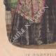 DÉTAILS 03 | Gravure de Mode - Paris - 1848 - Thierry