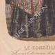 DÉTAILS 07 | Gravure de Mode - Paris - 1848 - Thierry