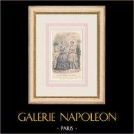 Gravura de Moda - Paris - Le Conseiller des Dames - Anaïs Toudouze