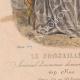 DÉTAILS 03   Gravure de Mode - Paris - 1849 - Le Conseiller des Dames - 169 Rue Montmartre