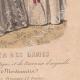 DÉTAILS 06   Gravure de Mode - Paris - 1849 - Le Conseiller des Dames - 169 Rue Montmartre