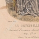 DÉTAILS 07   Gravure de Mode - Paris - 1849 - Le Conseiller des Dames - 169 Rue Montmartre