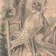 DETAILS 02 | Fashion Plate - Paris - Août 1848 - Le Conseiller des Dames