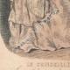 DETAILS 03 | Fashion Plate - Paris - Août 1848 - Le Conseiller des Dames