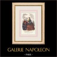 Gravura de Moda - Paris - Le Conseiller des Dames et des Demoiselles