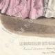 DÉTAILS 07   Gravure de Mode - Paris - Août 1855 - Le Conseiller des Dames et des Demoiselles