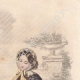 DETAILS 03 | Fashion Plate - Paris - Mai 1855 - Le Conseiller des Dames et des Demoiselles - 159 Rue Montmartre