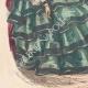 DETAILS 05 | Fashion Plate - Paris - Mai 1855 - Le Conseiller des Dames et des Demoiselles - 159 Rue Montmartre