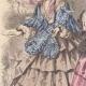 DETAILS 02 | Fashion Plate - Paris - Juin 1855 - Le Conseiller des Dames et des Demoiselles - 159 Rue Montmartre