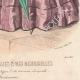 DETAILS 08 | Fashion Plate - Paris - Juin 1855 - Le Conseiller des Dames et des Demoiselles - 159 Rue Montmartre