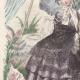DÉTAILS 02 | Gravure de Mode - Paris - Septembre 1855 - Le Conseiller des Dames et des Demoiselles - 159 Rue Montmartre