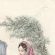 DÉTAILS 04 | Gravure de Mode - Paris - Septembre 1855 - Le Conseiller des Dames et des Demoiselles - 159 Rue Montmartre