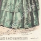 DÉTAILS 06 | Gravure de Mode - Paris - Septembre 1855 - Le Conseiller des Dames et des Demoiselles - 159 Rue Montmartre