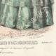 DÉTAILS 08 | Gravure de Mode - Paris - Septembre 1855 - Le Conseiller des Dames et des Demoiselles - 159 Rue Montmartre