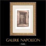 Printemps - Gran almacén en Paris - Portada (René Binet) | Heliograbado original según Binet. 1911