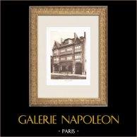 Un magasin - Quai de la Râpée à Paris (J. Charlet & F. Perrin, architectes)