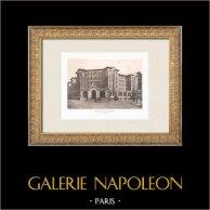 Hôtel pour hommes célibataires - Palais de la Femme - Paris (Labussière & Longerey, architectes)