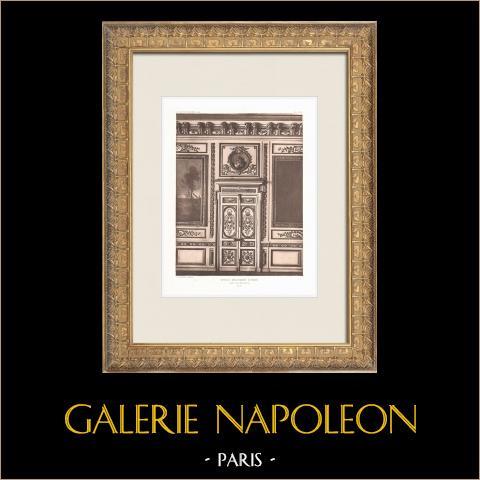 Ecole Militaire - Champ-de-Mars - Tür (Ange-Jacques Gabriel) | Original heliogravüre nach Ange-Jacques Gabriel. 1911
