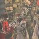 DÉTAILS 01 | Arbre de Noël des soldats russes - Guerre Russo-Japonaise - Mukden - Russie - 1905
