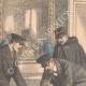 DÉTAILS 01   Reconstitution de la mort du député Syveton à Neuilly-sur-Seine - Ile de France - 1905