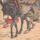 DETALLES 05 | Caravana de Europeos que regresan a Fez - Marruecos - 1905