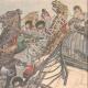 DÉTAILS 03 | Écroulement  d'un pont suspendu sur la Fontanka à Saint-Pétersbourg - Russie - 1905