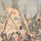 DÉTAILS 01 | Combat entre une tribu d'Indiens et les troupes mexicaines dans la Sonora - Mexique - 1905