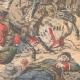 DÉTAILS 04 | Combat entre une tribu d'Indiens et les troupes mexicaines dans la Sonora - Mexique - 1905