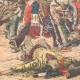 DÉTAILS 05 | Combat entre une tribu d'Indiens et les troupes mexicaines dans la Sonora - Mexique - 1905