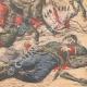 DÉTAILS 06 | Combat entre une tribu d'Indiens et les troupes mexicaines dans la Sonora - Mexique - 1905