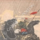 DETAILS 05   Khoungouzes attack a sledge carrying russian wounded - Manchuria - 1905