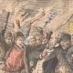 DÉTAILS 02 | Révolte paysanne dans les provinces russes - Jacquerie - Pillage - Russie - 1905