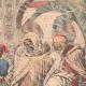 DÉTAILS 03   Le Sultan du Maroc reçoit G. Saint-René Taillandier à Fès - Maroc - 1905