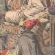 DÉTAILS 04   Le Sultan du Maroc reçoit G. Saint-René Taillandier à Fès - Maroc - 1905