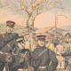 DETAILS 01   Execution of Chinese by the Japanese - Reprisals - Manchuria - 1905