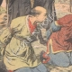 DETAILS 02   Execution of Chinese by the Japanese - Reprisals - Manchuria - 1905