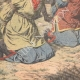 DETAILS 05   Execution of Chinese by the Japanese - Reprisals - Manchuria - 1905